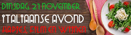 Banner Site Italiaanse Avond