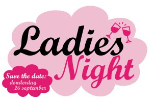 Ladies Night - Logo (incl Save The Date) - Digitaal