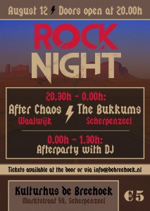 Flyer Rockavond 12aug17