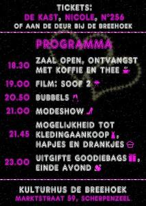19 September Ladies Night Kulturhus De Breehoek