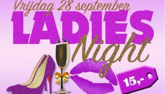 Flyer Ladies Night Voorkant