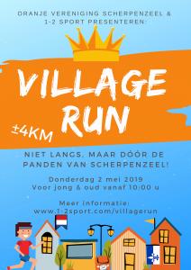 Poster Village Run