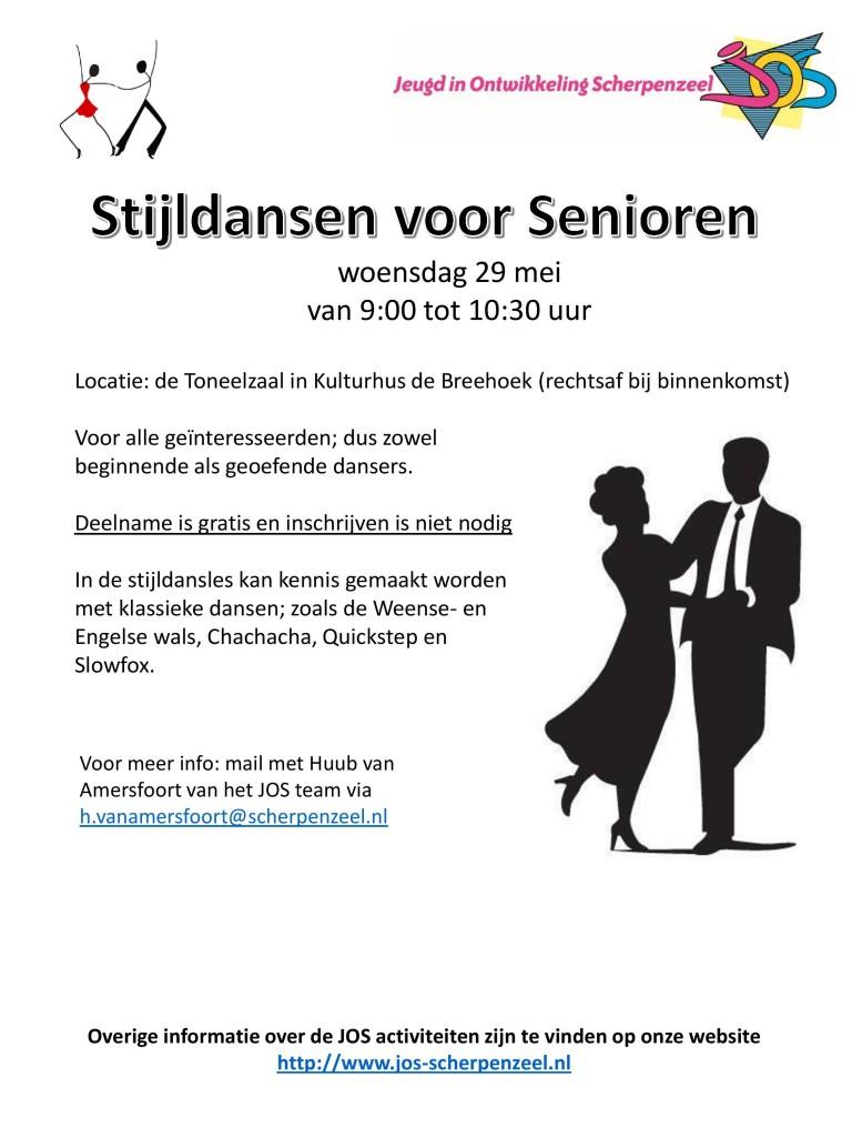 Dansen voor Senioren, 29 mei 2019