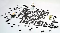 Miniature Figures Data Storage Barcode Qr Code