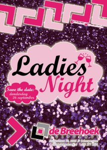 Ladies Night - Flyer Voorkant - Digitaal